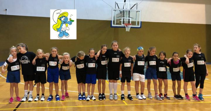Druhý turnaj Šmoulinky tentokrát v kladenské Sokolovně bude 5.10.2019