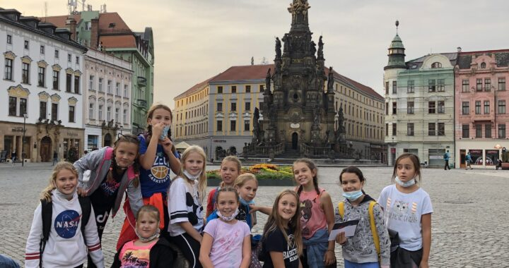 Napínavá Šmoulinka v Olomouci